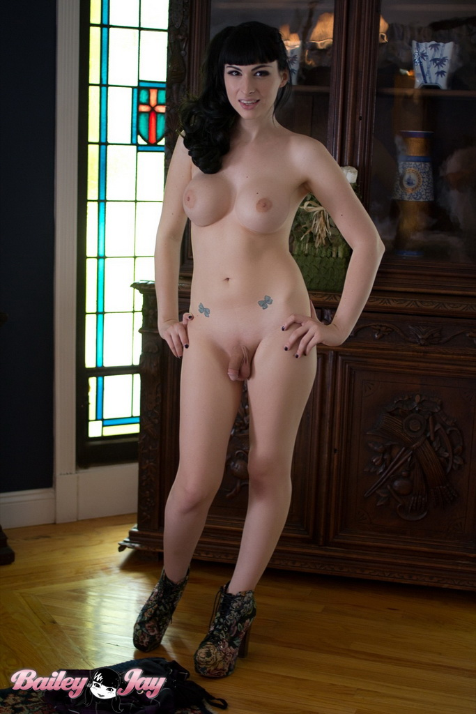Floy recommend best of with shemale soft cock posing